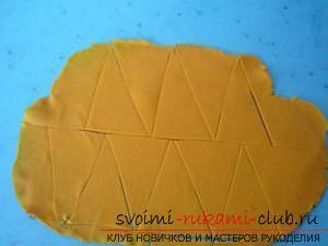 Мастер классы по созданию букетов из полимерной глины с описанием и фото.. Фото №29