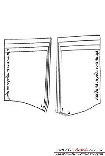 фото-инструкция для выкройки изделия. Фото №2