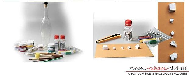 Как украсить бокалы полимерной глиной и как сделать кольца для салфеток из термопластики.. Фото №7