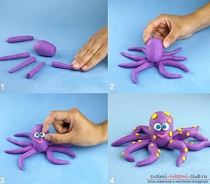 Как сделать из пластилина поделки своими руками