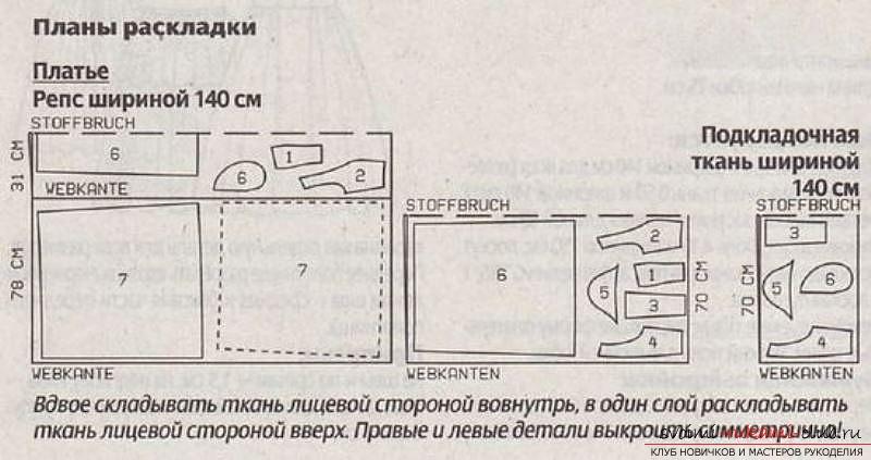 фотоинструкция для выкройки. Фото №2