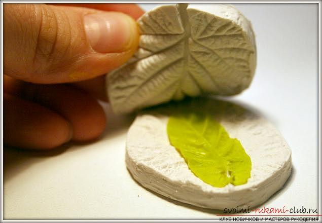 Мастер классы по созданию букетов из полимерной глины с описанием и фото.. Фото №19