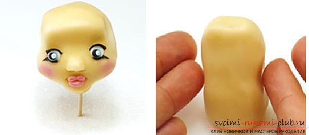 Мастер класс по лепке кукол из полимерной глины своими руками. Фото №7