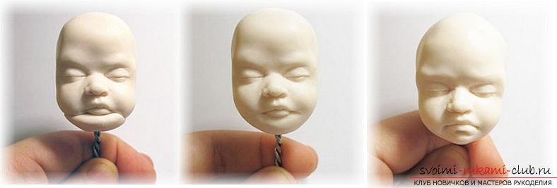 Мастер класс по лепке кукол из полимерной глины своими руками. Фото №24