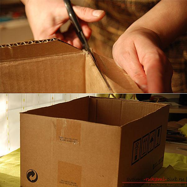 Коробки для голосования своими руками