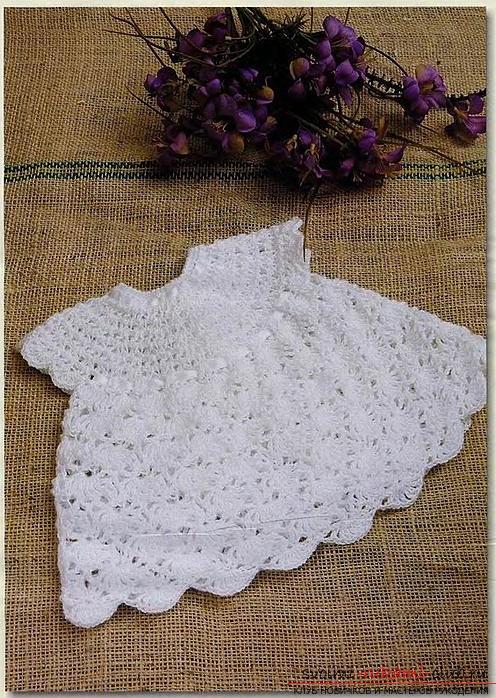 Как связать платье своими руками крючком для девочек разного возраста, схемы описание и фото.. Фото №1