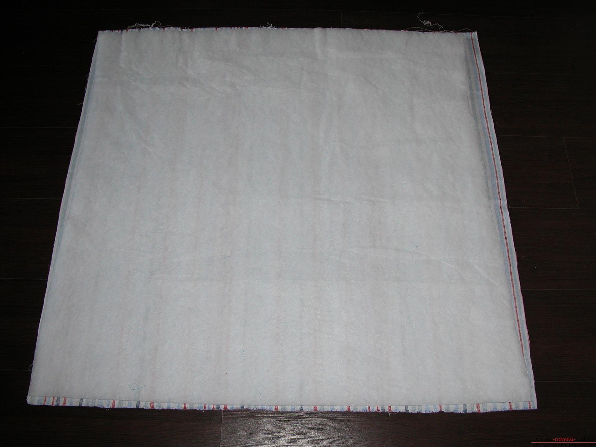 Подробный мастер класс по шитью детского лоскутного одеяла. Фото №16