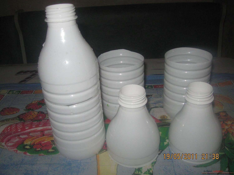 Сделать ромашку из пластиковых бутылок своими руками фото 591