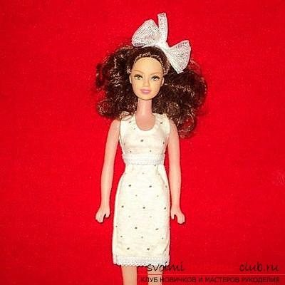 Одежда для кукол, сшитая своими руками. Кукольная одежда для гардероба бесплатно.. Фото №2