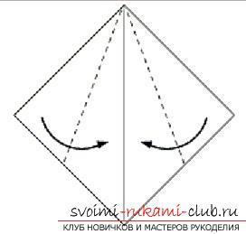 Создание поделок из бумаги своим руками в технике оригами для детей 5 лет.. Фото №7