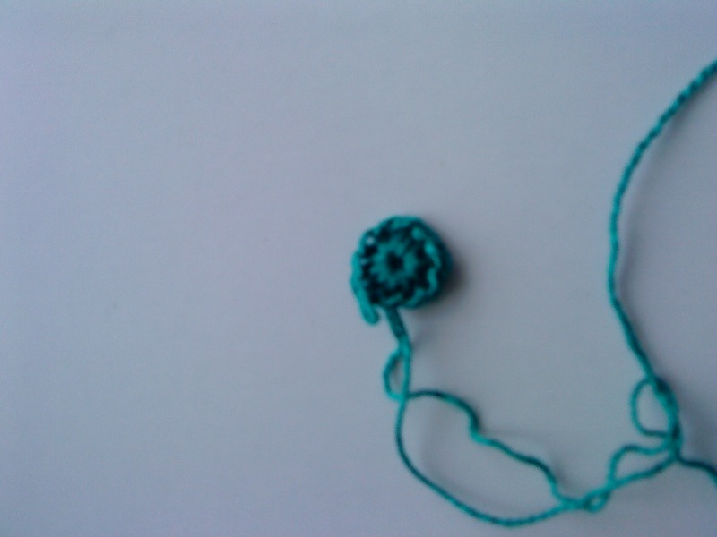 Вяжем крючком чепчик для новорожденного. Фото №3
