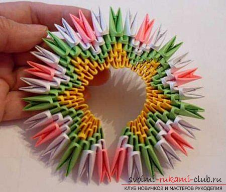 Оригами павлина своими руками: схема и описание. Фото №13