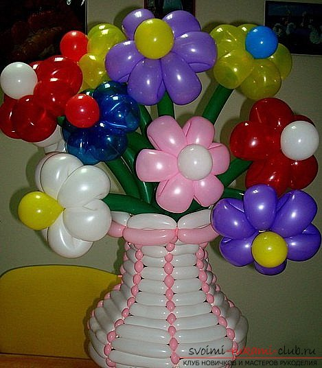 5 из шаров своими руками