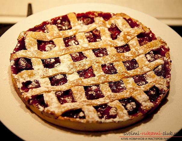 Пироги з вишнями рецепт з