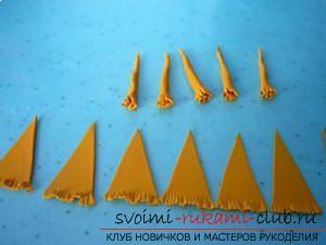 Мастер классы по созданию букетов из полимерной глины с описанием и фото.. Фото №30