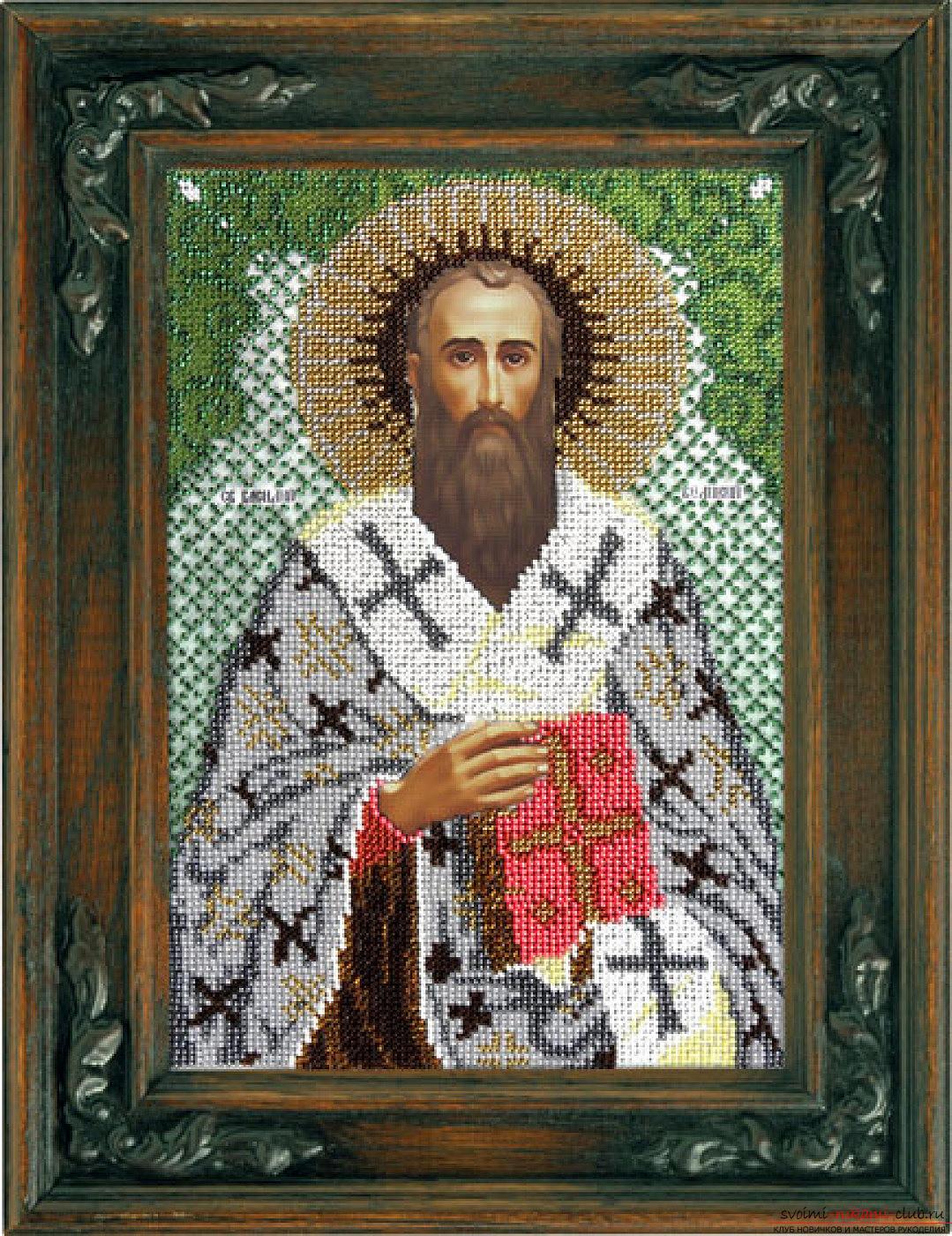святой глеб вышивка крестом схема картинки
