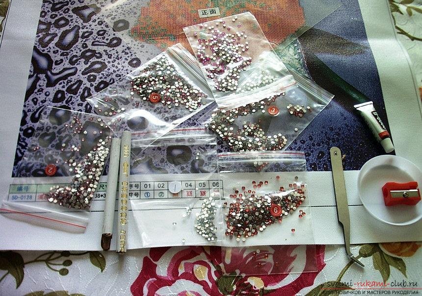 Схемы работ в технике алмазная вышивка. Фото №2