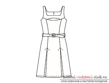 выкройки летних платьев Бурда, примеры из журнала, бесплатно. Фото №2