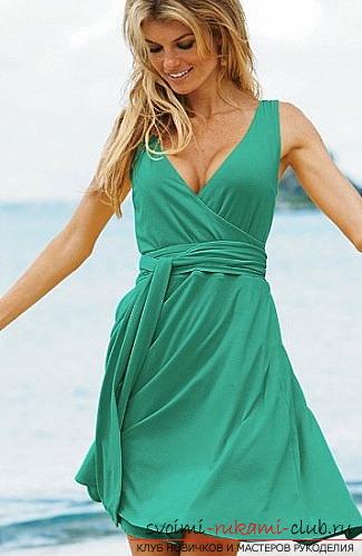 выкройки летних платьев Бурда, примеры из журнала, бесплатно. Фото №7 bbda1157126