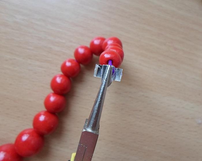 Как сделать застёжку на серёжку