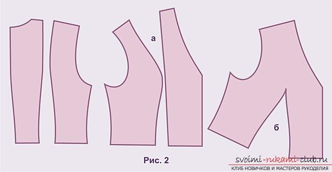 Образцы, фотографии выкроек платьев. Фото №3