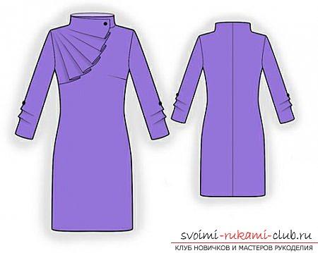 Образцы, фотографии выкроек платьев. Фото №1