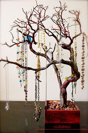Дерево для украшения своими руками