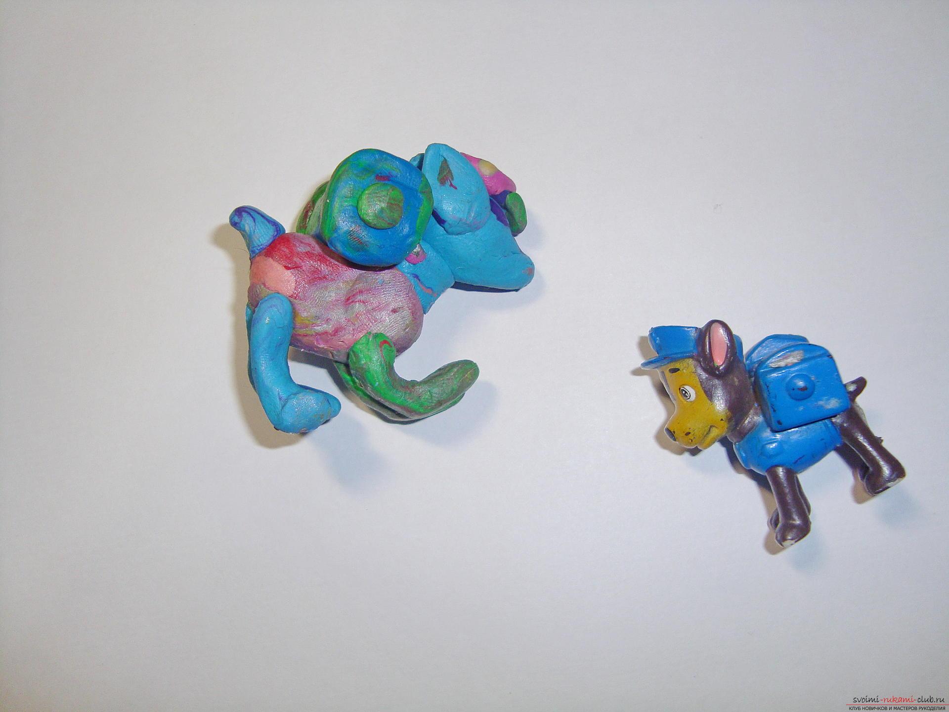 Фото поделок из пластилина для кукол