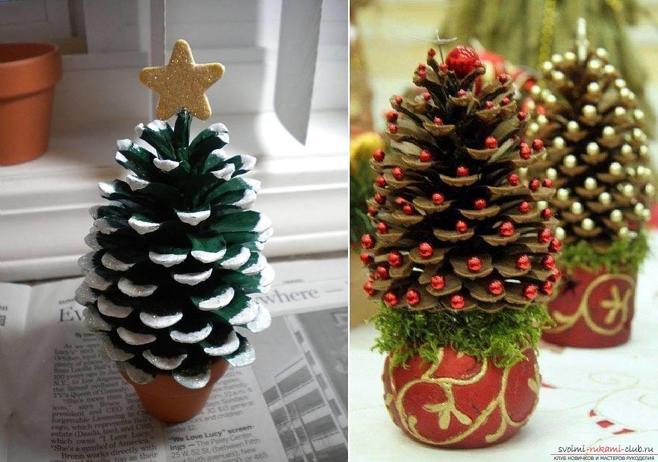 Новогодние украшения из подручных материалов своими руками
