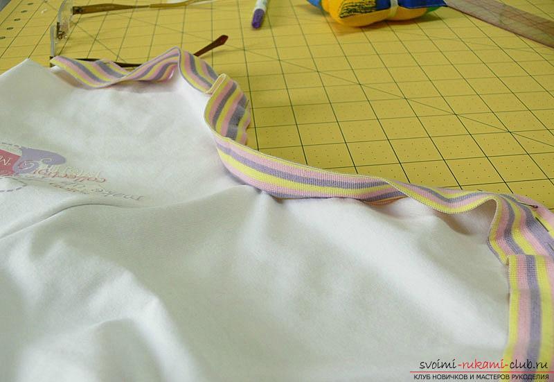 Выкройка и пошив боди для новорожденного малыша. Фото №14