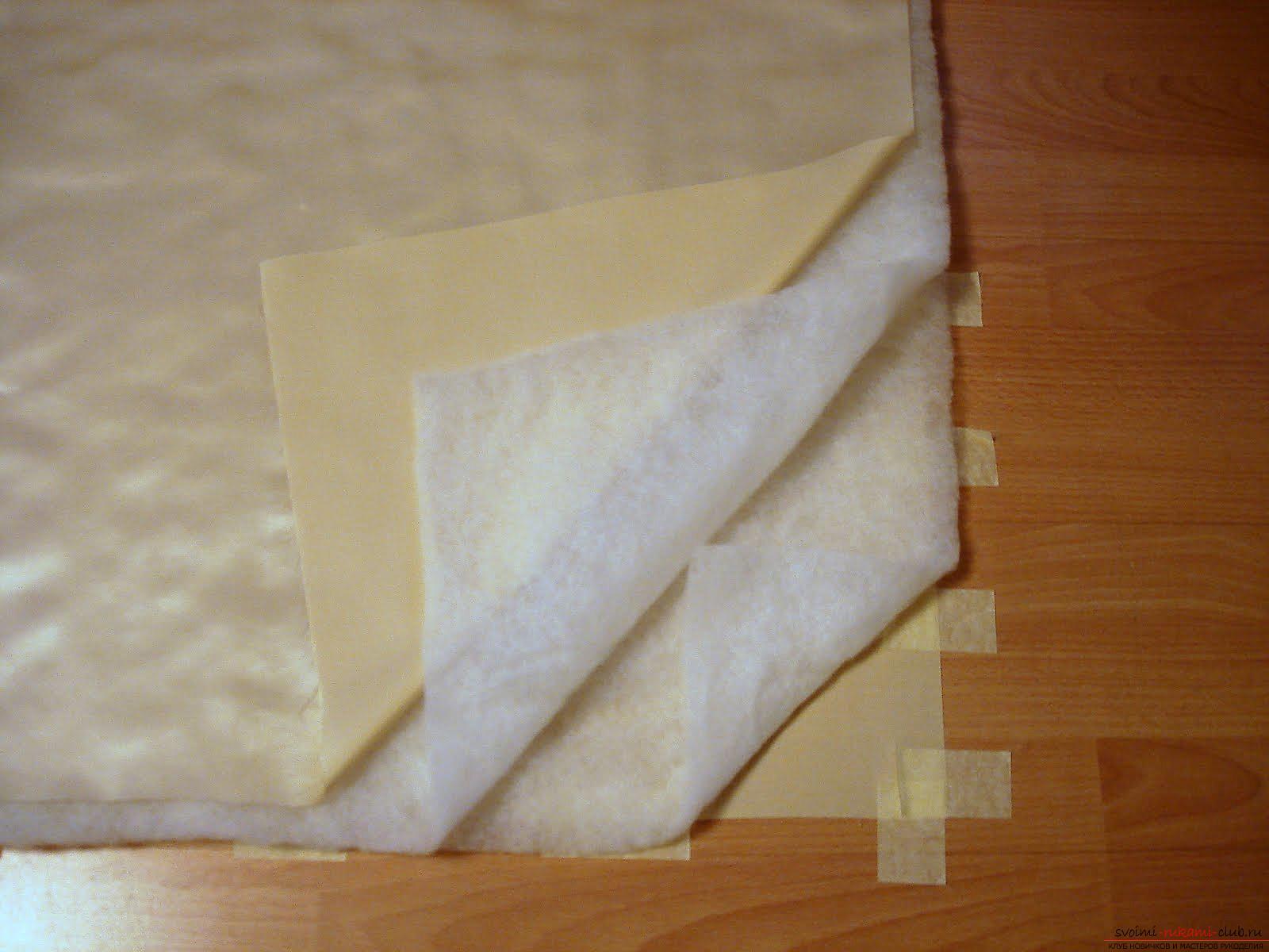 Как сшить красивый конверт для новорожденного ребенка. Фото №3