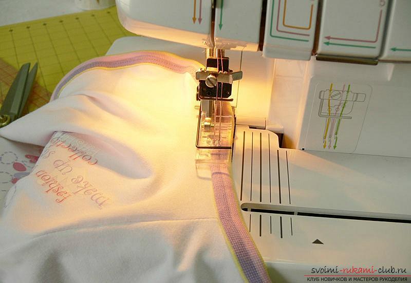 Выкройка и пошив боди для новорожденного малыша. Фото №16