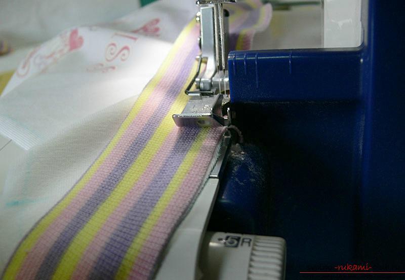 Выкройка и пошив боди для новорожденного малыша. Фото №5