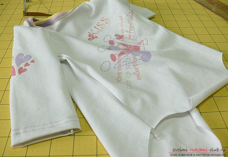Выкройка и пошив боди для новорожденного малыша. Фото №13