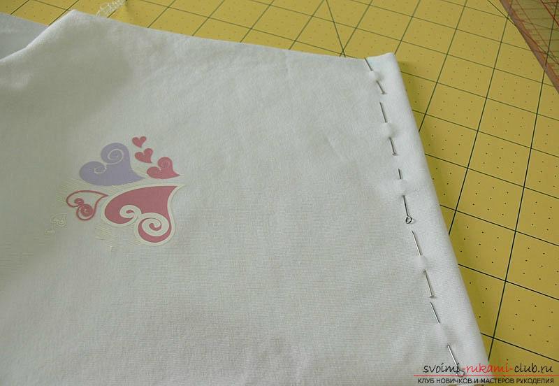 Выкройка и пошив боди для новорожденного малыша. Фото №12