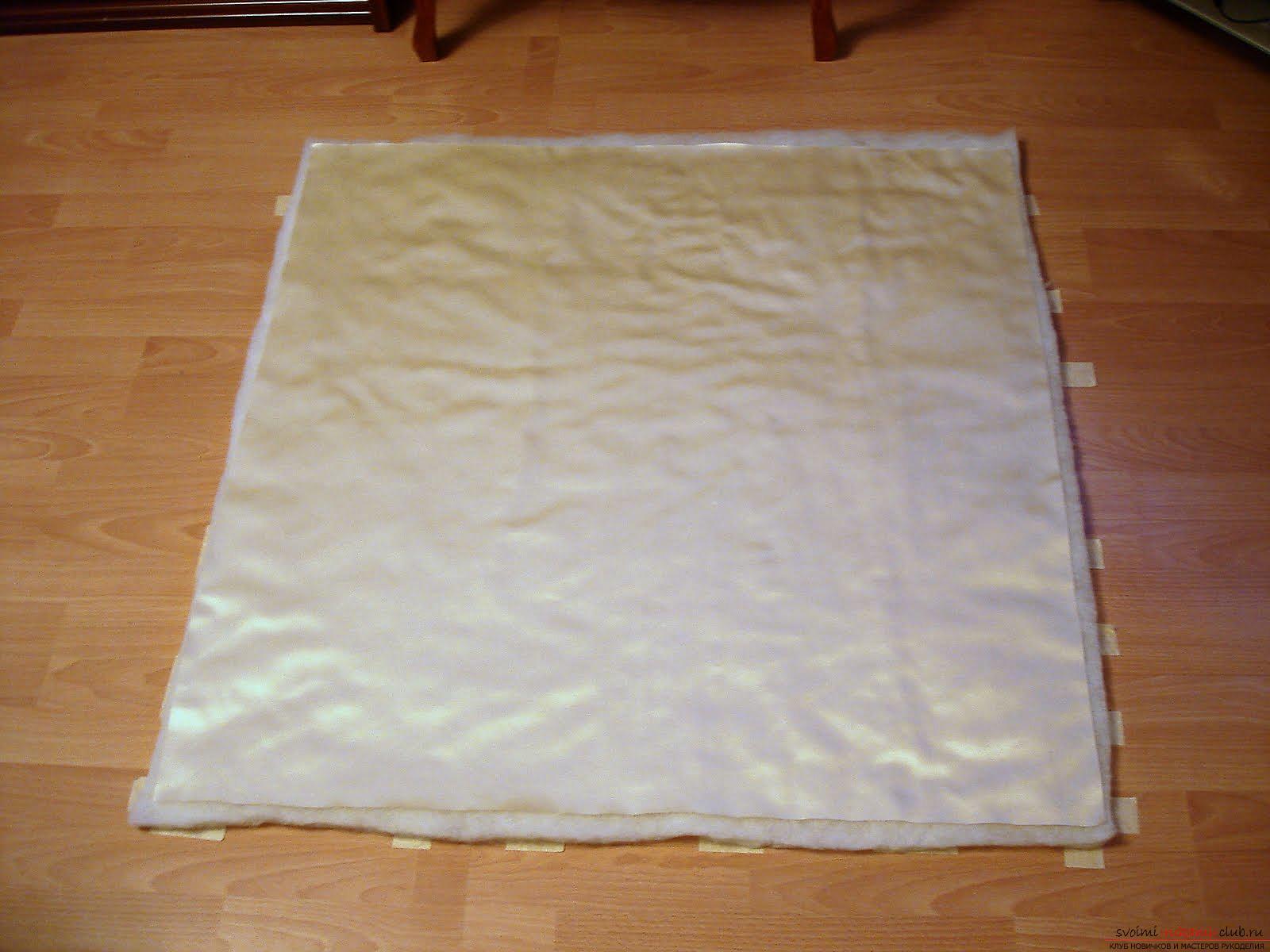Как сшить красивый конверт для новорожденного ребенка. Фото №2