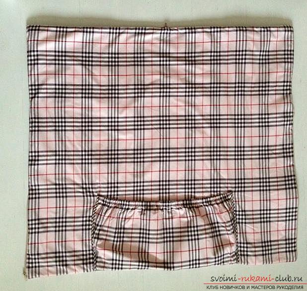Выкройка и пошив одеяла-трансформера для малыша. Фото №1