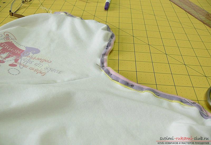 Выкройка и пошив боди для новорожденного малыша. Фото №15