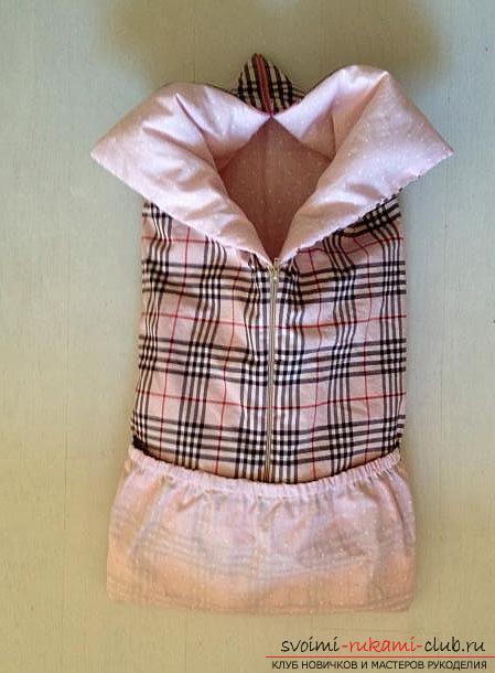 Выкройка и пошив одеяла-трансформера для малыша. Фото №5