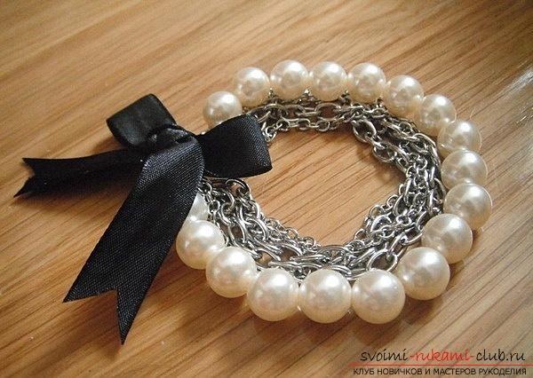 Как сделать ожерелье из бусин своими руками