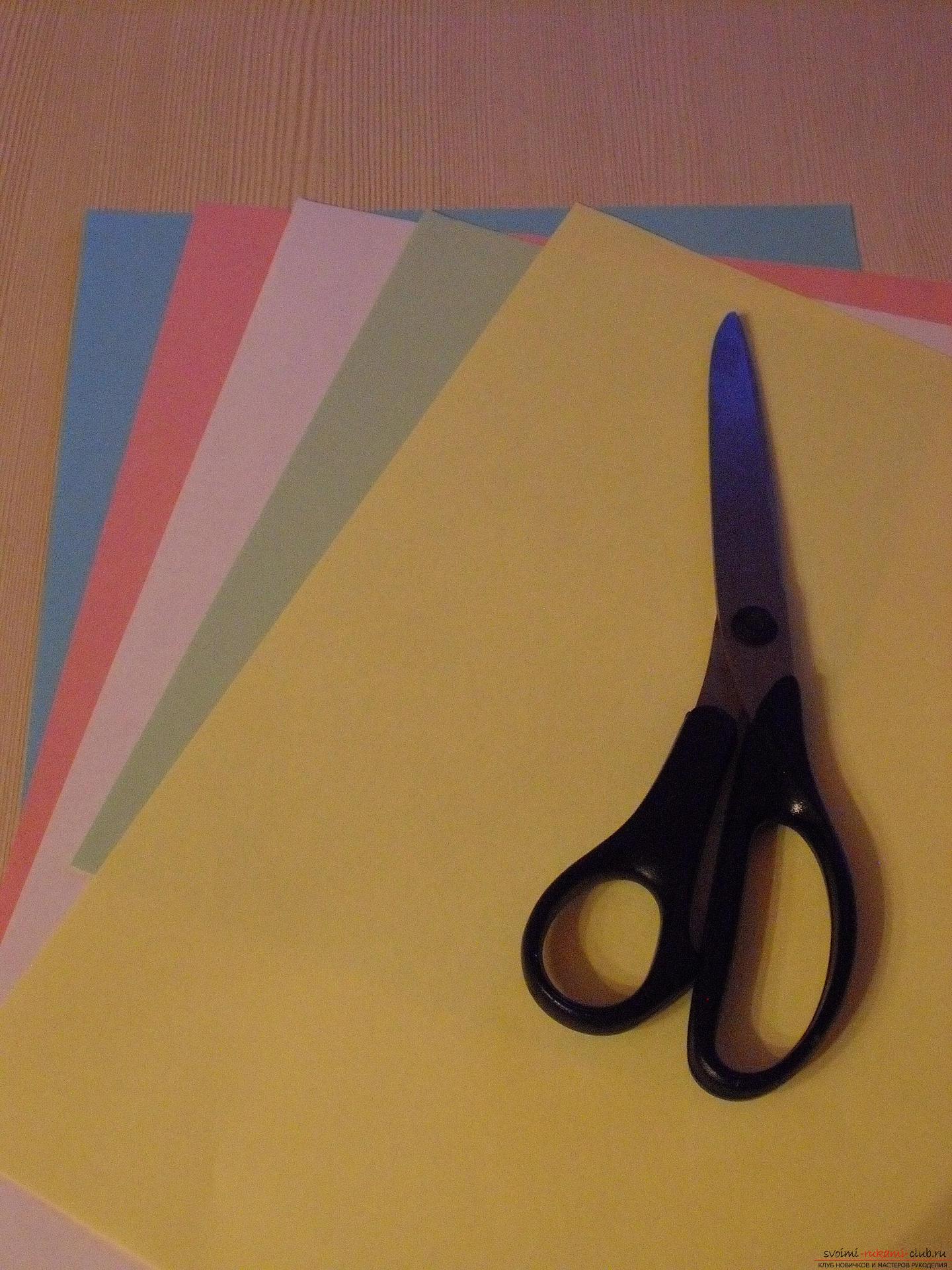 Этот пошаговый мастер-класс с инструкцией модульного оригами научит как сделать корзинку с лилиями.. Фото №2