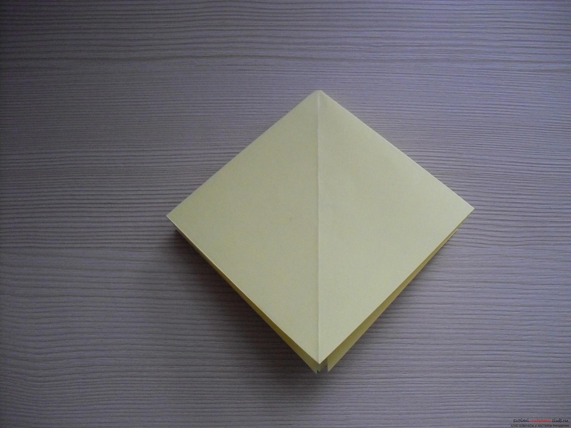 Этот пошаговый мастер-класс с инструкцией модульного оригами научит как сделать корзинку с лилиями.. Фото №26
