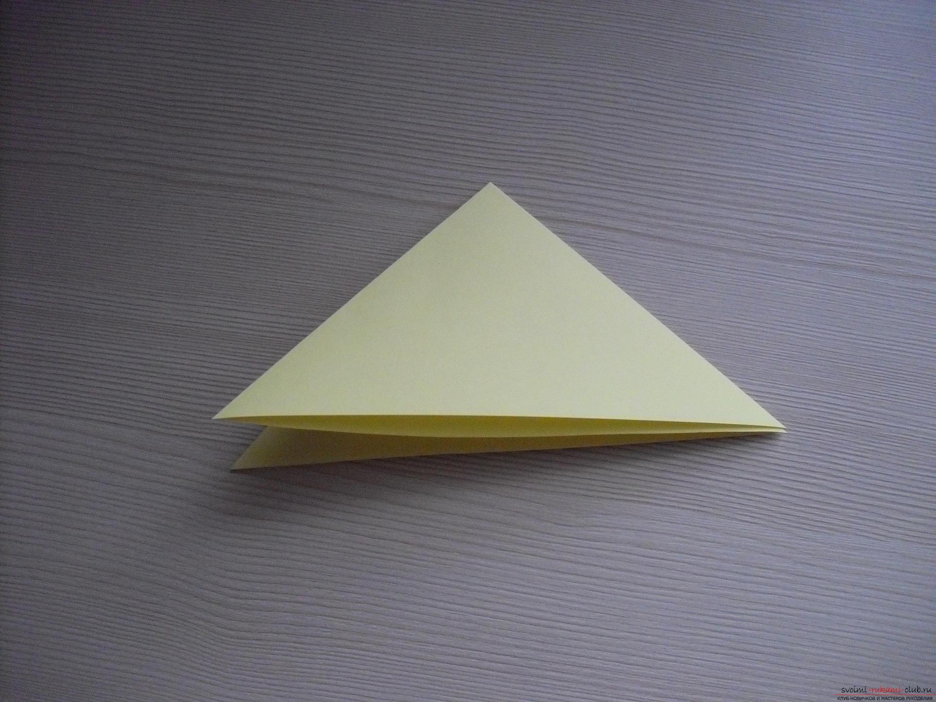 Этот пошаговый мастер-класс с инструкцией модульного оригами научит как сделать корзинку с лилиями.. Фото №23