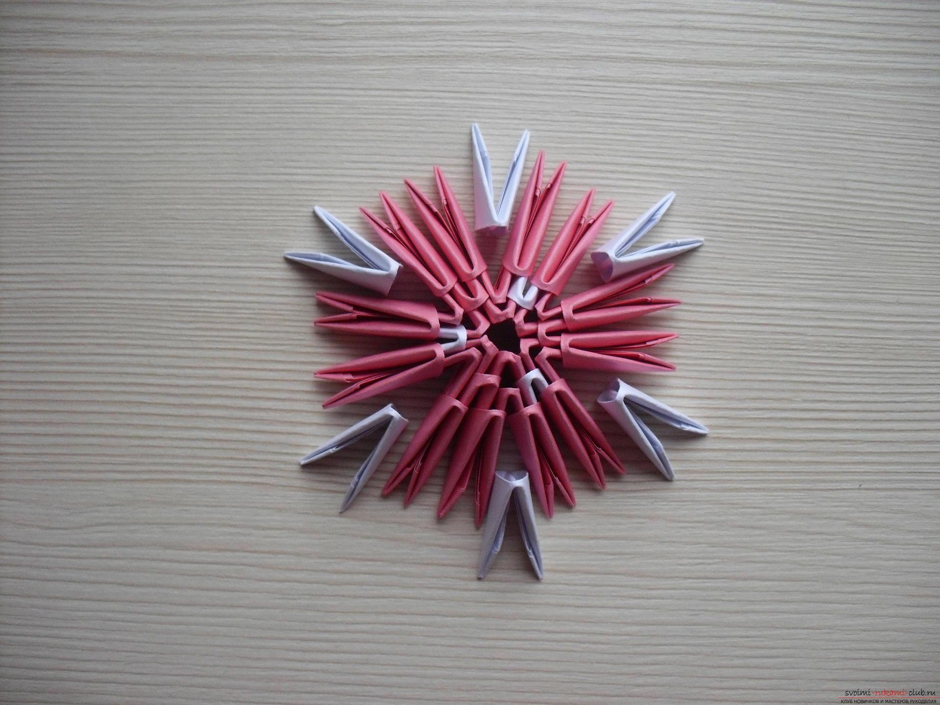 Оригами гриб мухомор схема фото 544