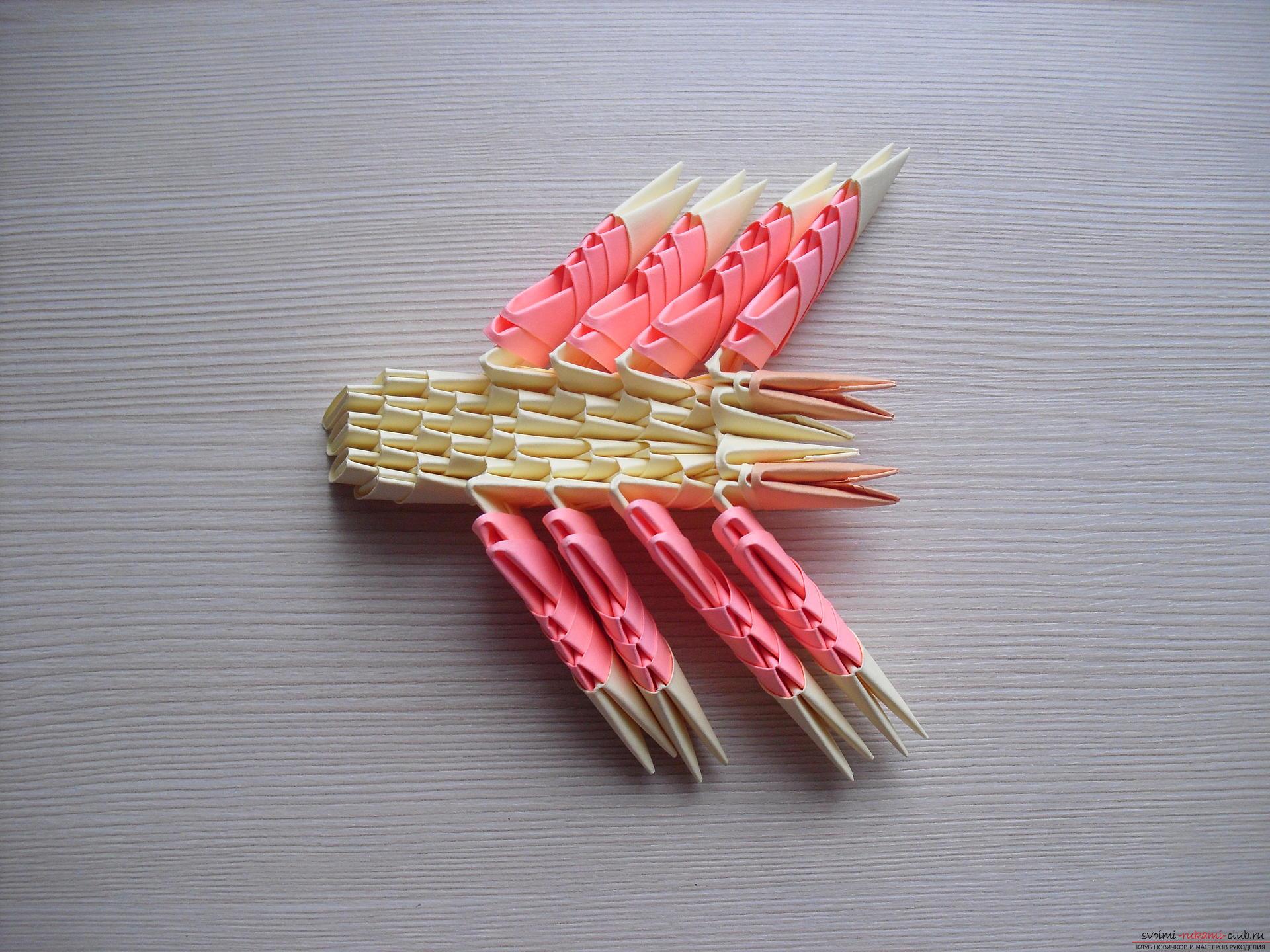 Модульное оригами как делать