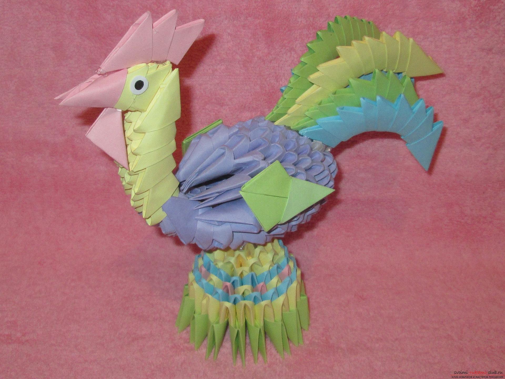 модульное оригами вазы пошаговая инструкция сборки