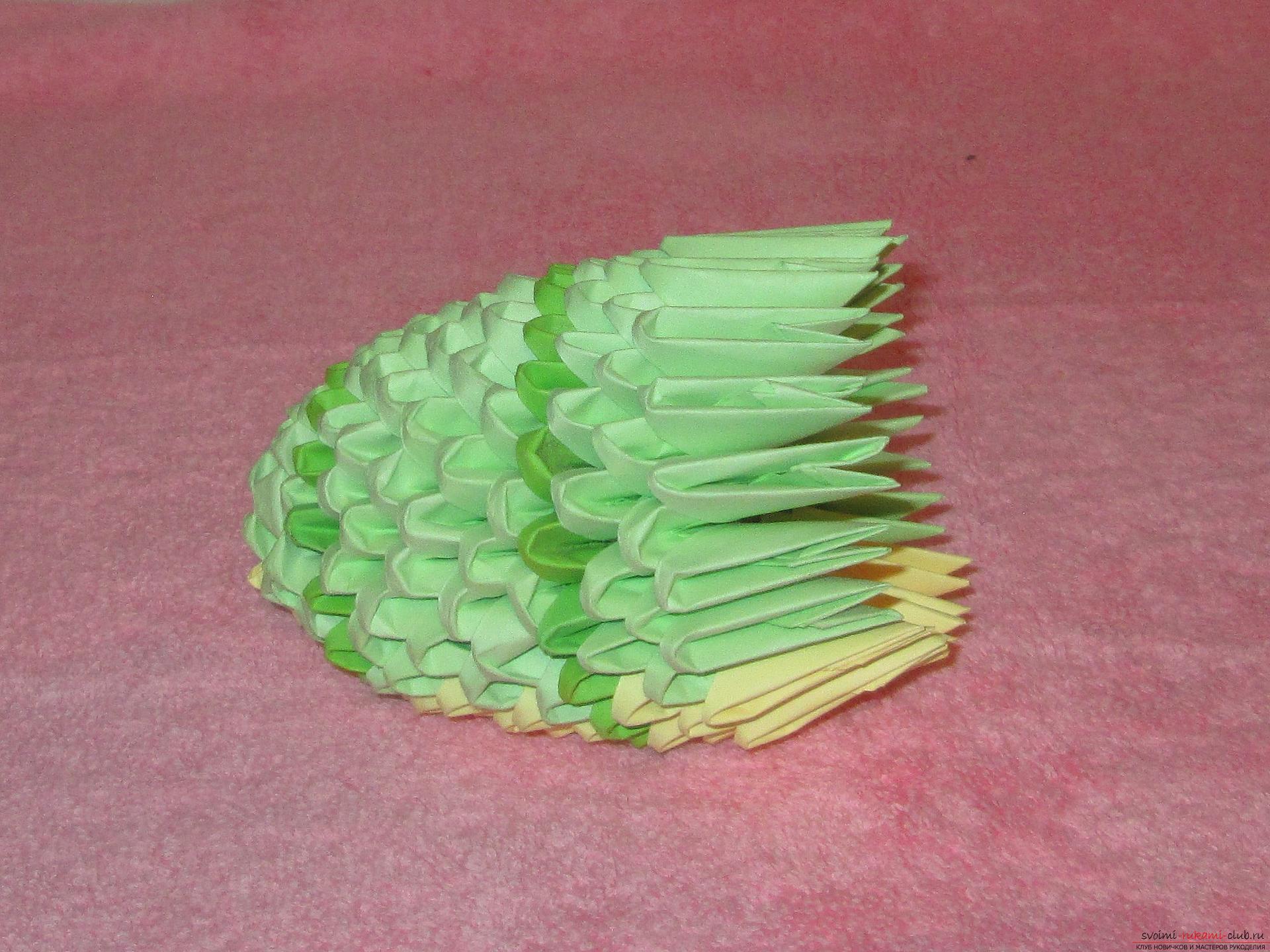 Модульное оригами паровоз схема сборки мастер класс