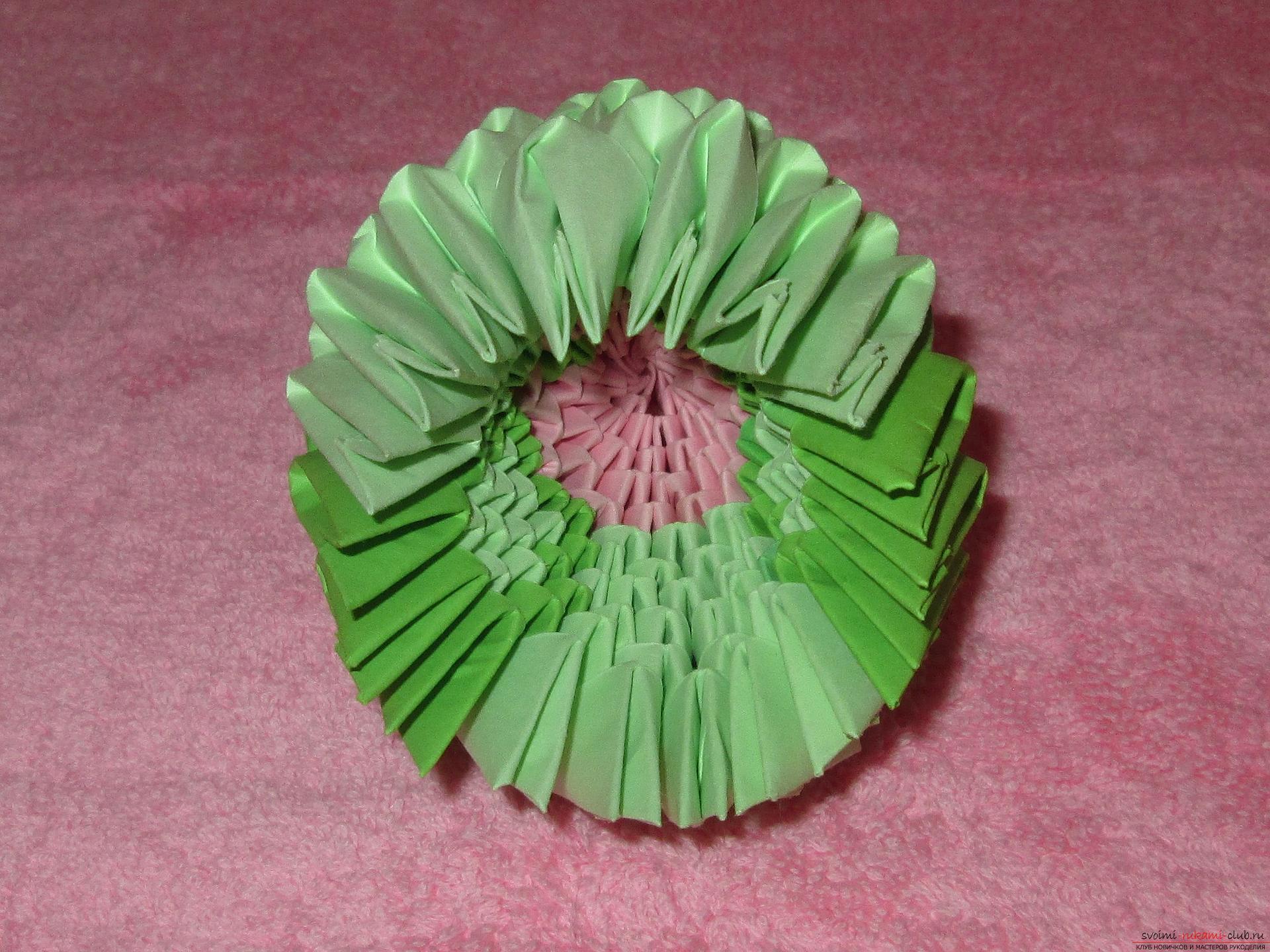 Модульное оригами фото и схемы сборки