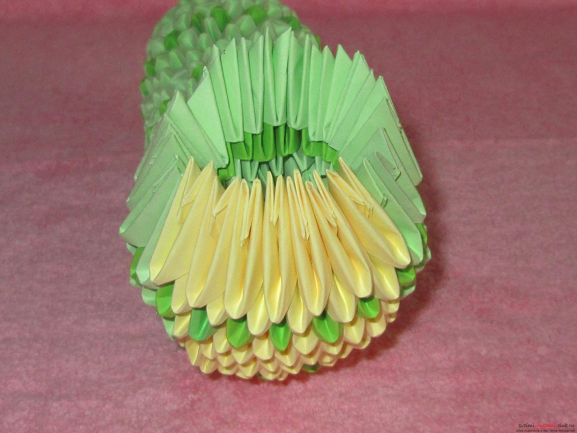 Модульное оригами торшер схема сборки пошаговые фото