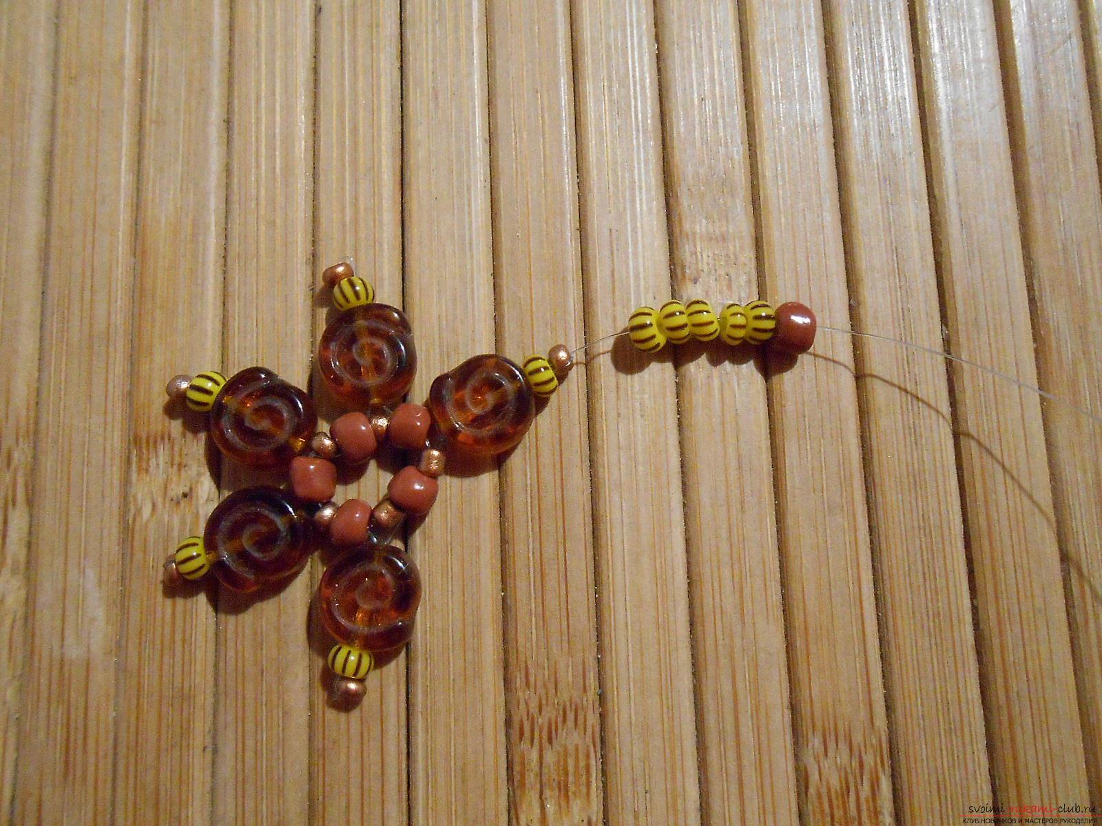 Быстрое изготовление сережек своими руками из бисера при помощи простого руководства с пошаговыми фото